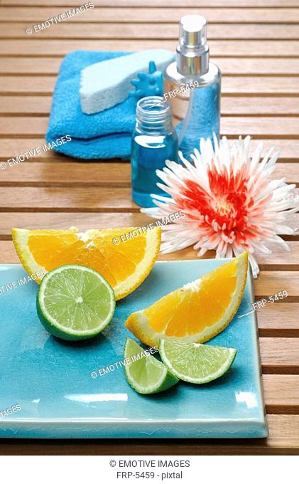 Vitamines and bath accessories