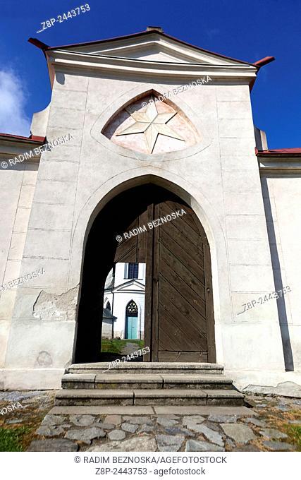 Pilgrimage church of St. John of Nepomuk, Zelena Hora, Zdar Nad Sazavou, Moravia, UNESCO world heritage Czech Republic