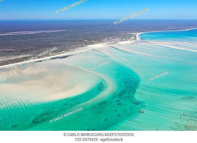 Coral reef near Ambatomilo, South Western coast of Madagascar