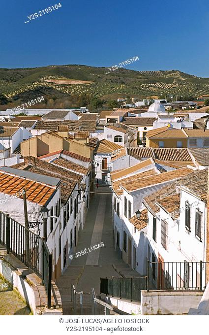 Urban view, Badolatosa, Seville-province, Region of Andalusia, Spain, Europe