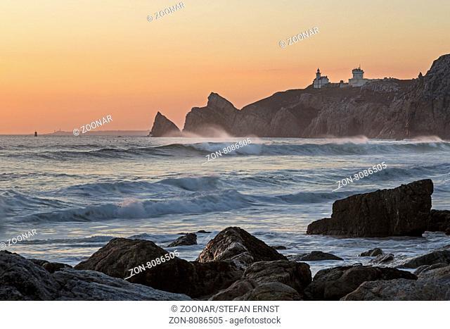 Strand Baie des Trepasses, Halbinsel Cap Sizun, Département Finistère, Bretagne, Frankreich, Europa / Beach Baie des Trepasses, Peninsula Cap Sizun