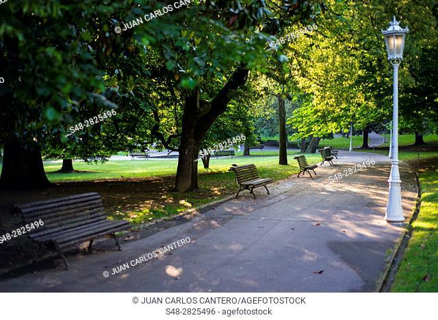 Parque de Doña Casilda en Bilbao. Vizcaya. Pais Vasco. España. Europa