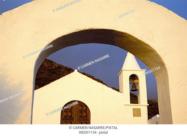 Ermita de los Reyes. El Hierro. Canary islands. Spain