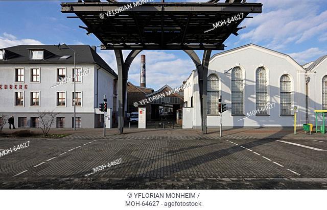 Museum der Schwerindustrie, Straßenseite, Eingangsbereich