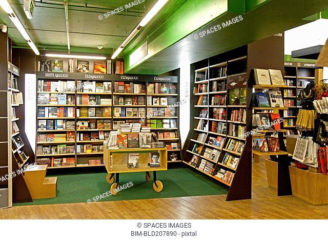 Large Bookstore Interior