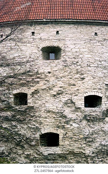 Tallinn Castle Window. Tallinn, Estonia