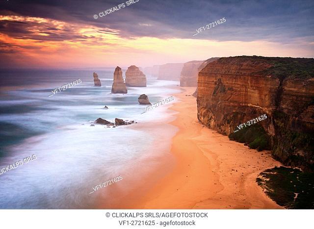 12 Apostles, The Great Ocean Road, Victoria in Australia