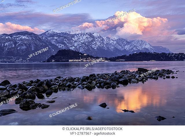 Italy, Lombardy, Como district. Como Lake, tremezzina,