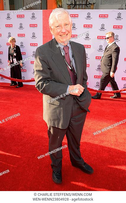 TCM Classic Film Festival held at TCL Chinese Theater IMAX - Day 1 Featuring: Robert Henrey Where: Los Angeles, California