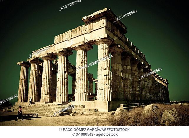 Greek Temple of Selinunte Sicily Italy
