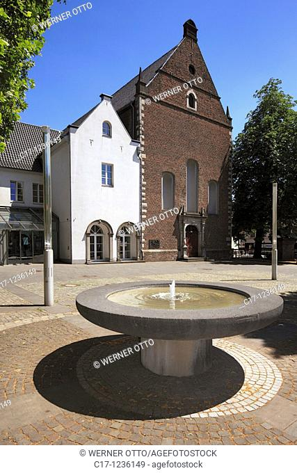 Germany, Neuss, Rhine, Lower Rhine, North Rhine-Westphalia, arsenal, former church and monastery of the Franciscans, nowadays events and concerts