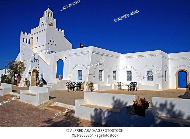 Building of the Guellala Museum, Djerba, Tunisia