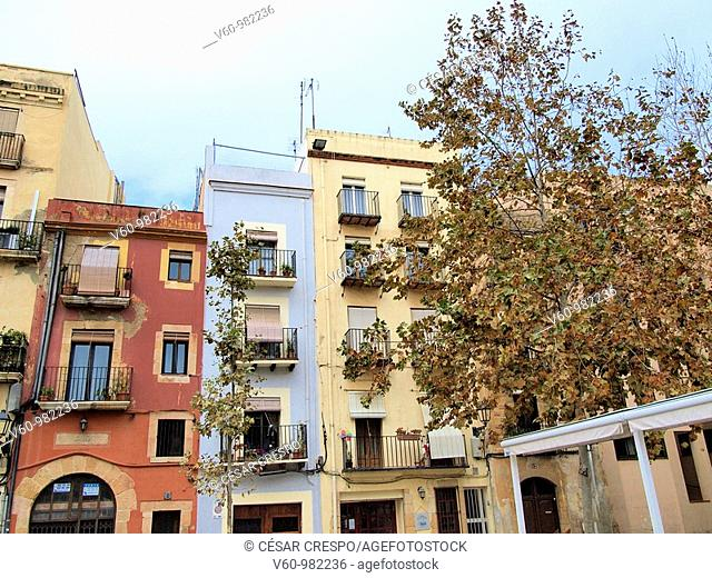 -Buildings Sorraund Cathedral of Tarraco- Tarragona(Spain)