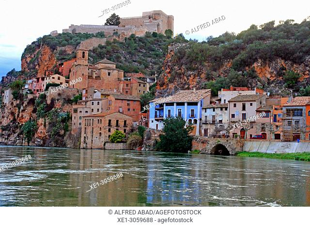 Ebro River, Miravet, Catalonia, Spain