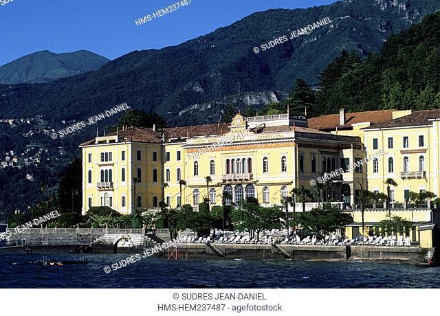 Italy, Lombardia, Lago di Como Como Lake, Bellagio, Villa Serbelloni Hotel