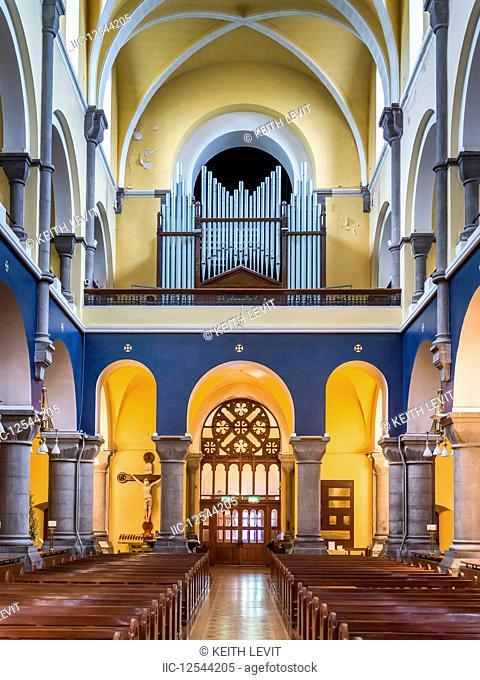 Colourful interior of the Cathedral of the Immaculate Conception; Sligo, County Sligo, Ireland
