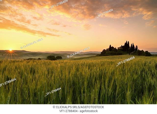 San Quirico d'Orcia,Tuscany, Italy