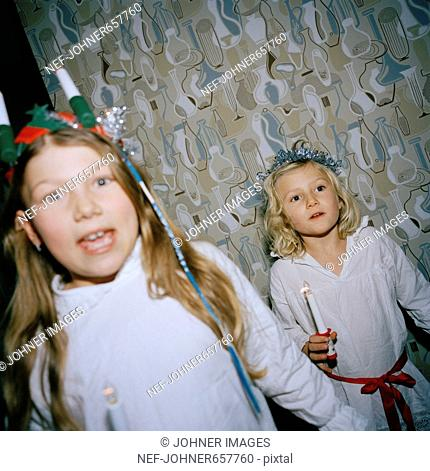 Lucia day celebrations, Sweden