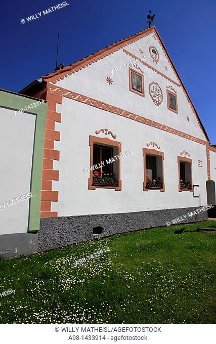 Holasovice. Unesco World heritage site. South Bohemia. Czech Republic