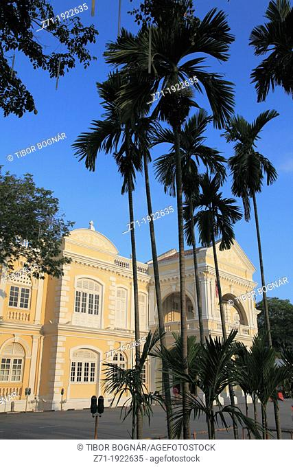 Malaysia, Penang, Georgetown, Town Hall, historic colonial architecture