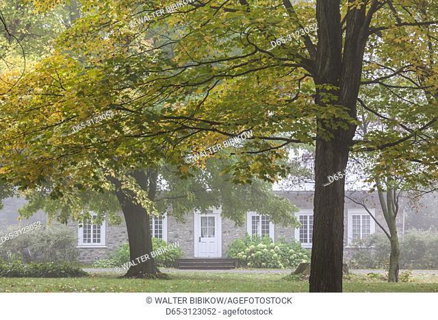 Canada, Quebec, Mauricie Region, Batiscan, Vieux Presbytere, Old Presbytery
