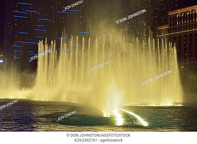 Fountains of Belaggio, Las Vegas, Nevada, USA