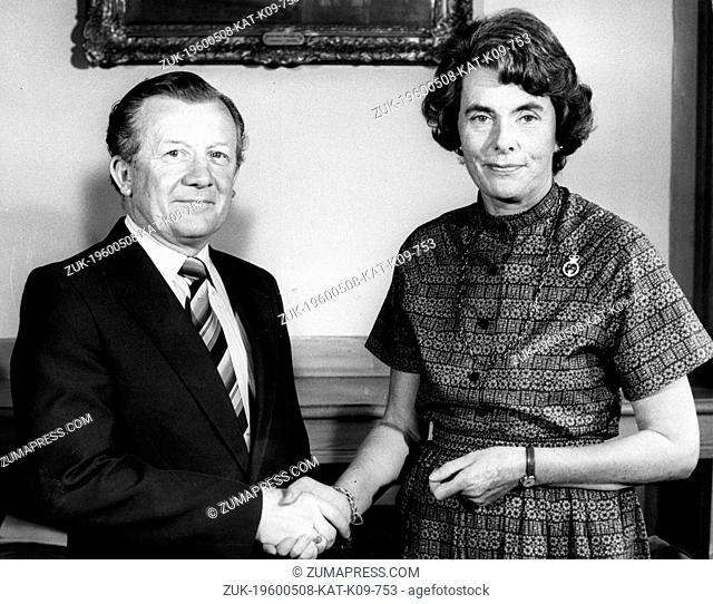 July 4, 1980 - London, England, U.K. - PATRICIA KNATCHBULL, 2nd Countess Mountbatten of Burma, born February 14, 1924, is a British peeress