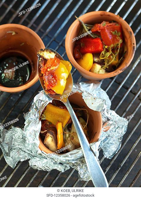 Grilled ratatouille