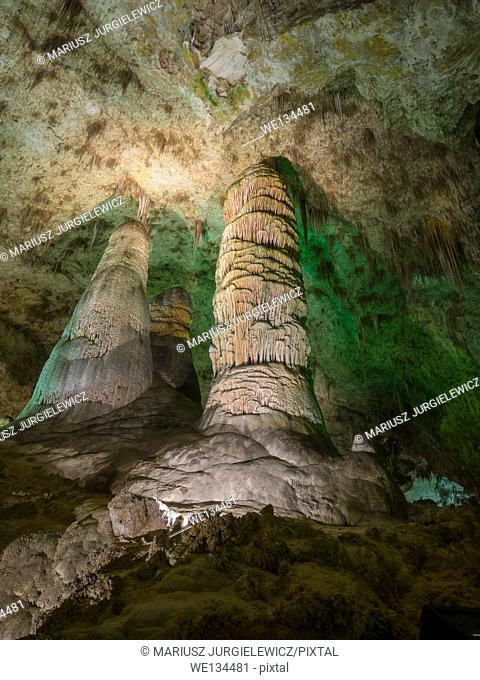 Carlsbad Caverns National Park is a United States National Park in the Guadalupe Mountains in southeastern New Mexico