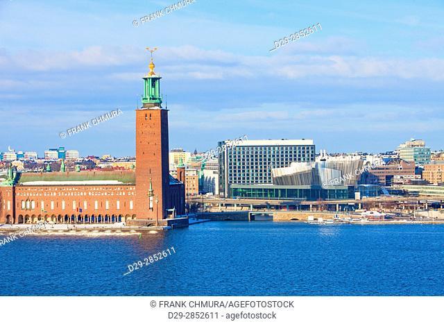 Sweden, Stockholm - The Town Hall ( Stadshuset )