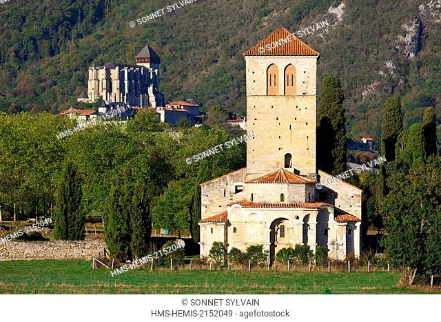 France, Haute Garonne, Saint Bertrand de Comminges, labeled Les Plus Beaux Villages de France (The Most Beautiful Villages of France)