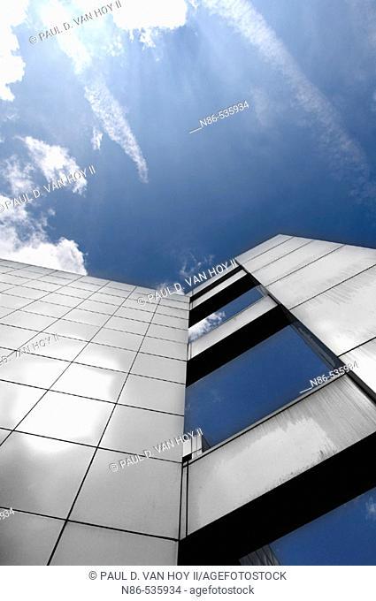 Modern architecture, New Harmony. Indiana, USA