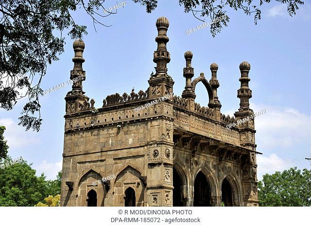 Minar of Damadi mosque Ahmednagar Maharashtra India