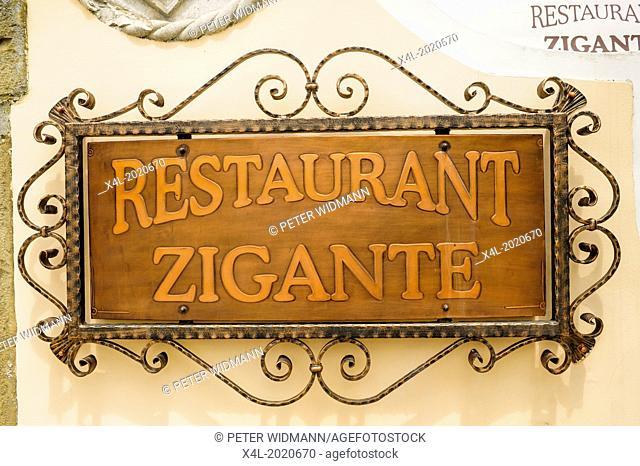 Istria, Croatia, Zigante Truffle Restaurant, tartufi, Livade
