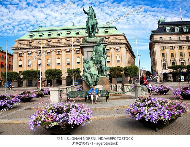 Gustav Adolfs squares   Stockholm Sweden