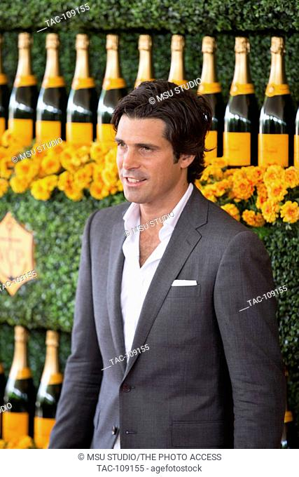 Nacho Figueras attends the Sixth-Annual Veuve Clicquot Polo Classic on October 17, 2015 at Will Rogers State Historic Park, Polo Field, in Pacific Palisades