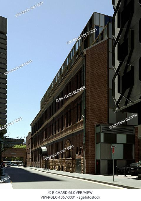 West facade on Carlton Street. The Old Clare Hotel, Sydney, Australia. Architect: Tonkin Zulaikha Greer, 2015