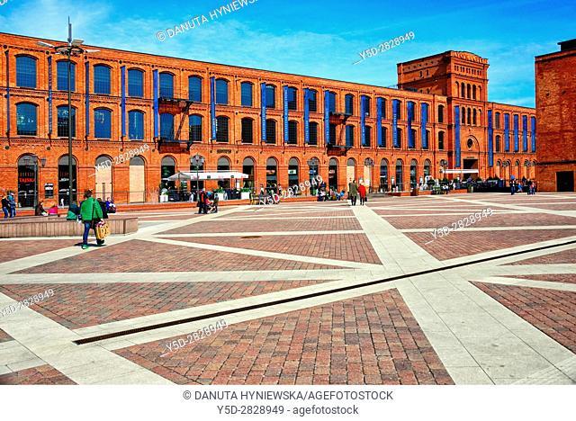 Shopping and cultural centre Manufaktura in a former historic textile factory, Lódz, Lódz Voivodeship, Lodz, Poland, Europe