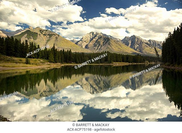 Johnson Lake, Banff National Park, Alberta, Canada