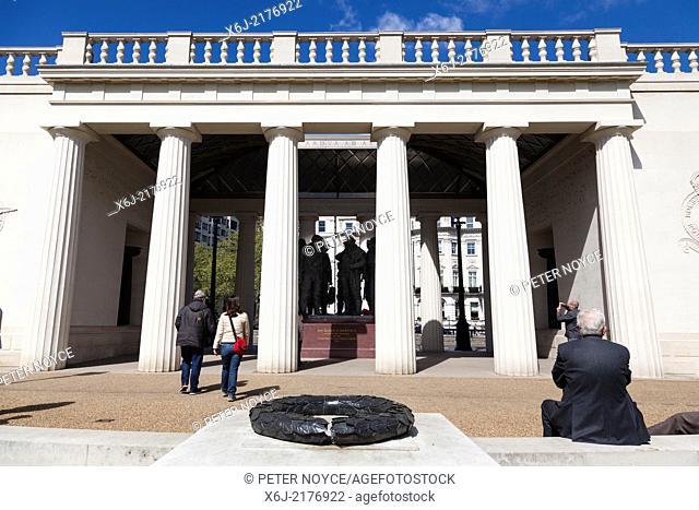 Bomber Command Memorial in Green Park London