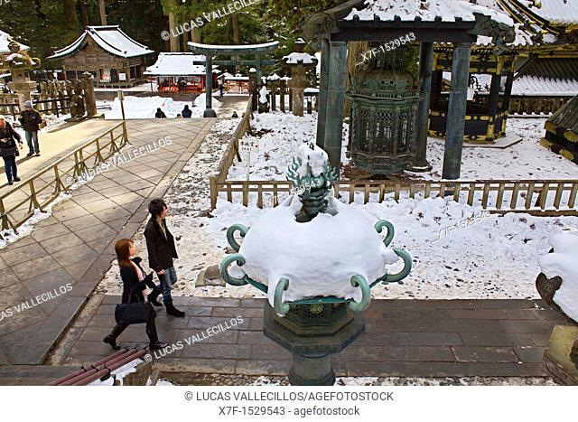 Toshogu Shinto shrine, Nikko, Japan