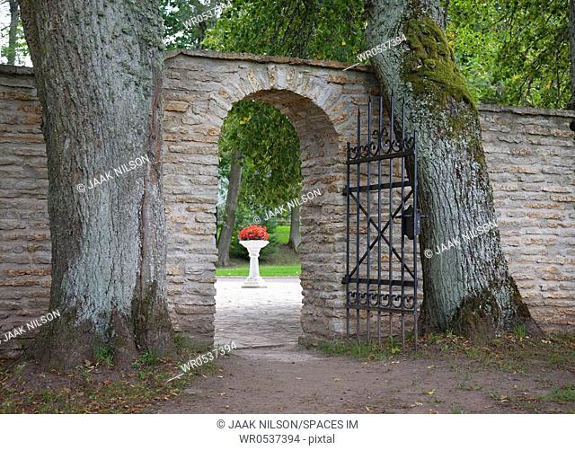 Gate Entrance to Palmse Manor
