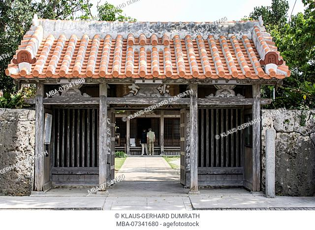 Gogendo Shrine of Ishigaki in Japan
