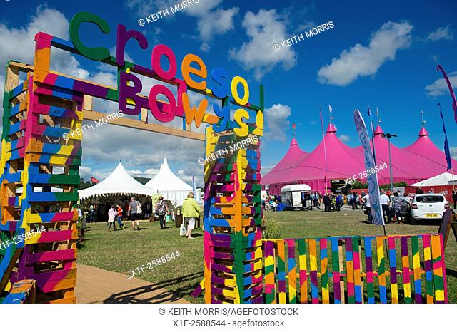 The National Eisteddfod of Wales , held near Meifod village in Powys, mid Wales, August 2015