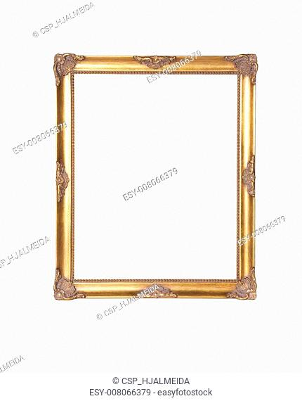 Old picture wood frame