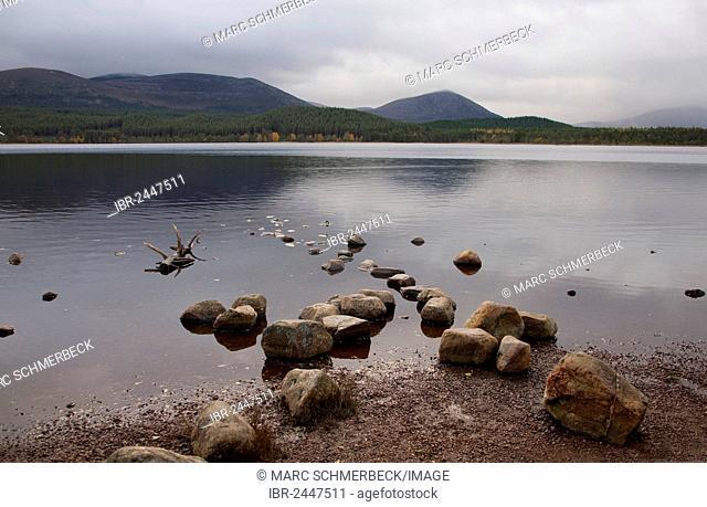 Loch Morlich, Cairngorm Mountains, Scotland, United Kingdom, Europe