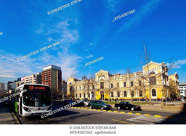 Chile, Santiago, University of Chile, Libertador General Bernardo O'Higgins Avenue
