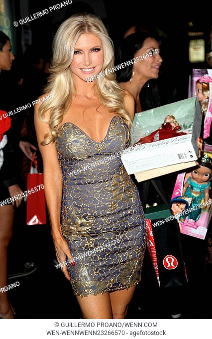 Babes in Toyland annual charity holiday party at Avalon Nightclub, Hollywood - Arrivals Featuring: Brande Roderick Where: Los Angeles, California