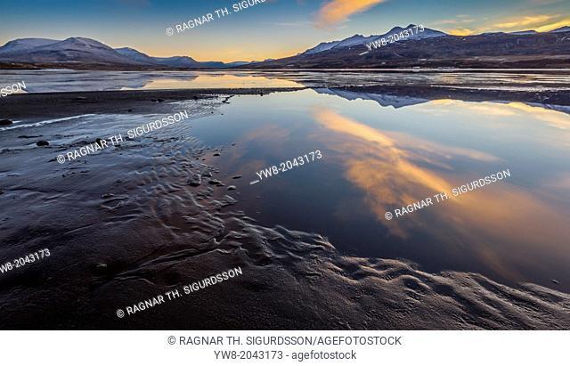 Eyjafjordur by Akureyri, Northern Iceland