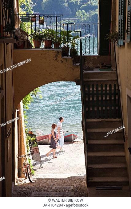 Italy, Piedmont, Lake Maggiore, Stresa, Borromean Islands, Isola Superiore O Dei Pescatori